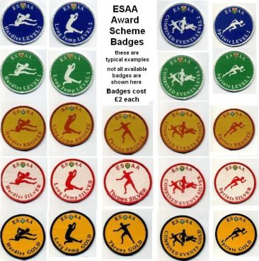 ESAA Badges
