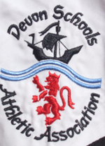 Devon Schools Athletics Association Logo