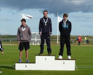 Jack Moncur Scottish U17 Champion