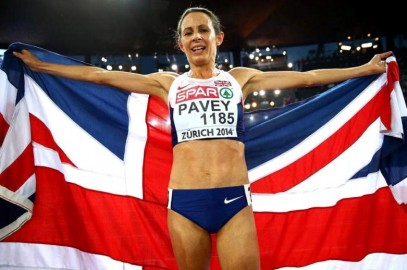 JO PAVEY COMPETES IN 5TH HISTORIC OLYMPIC GAMES