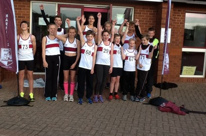 Harriers outclass the rest of Devon at County Combined Events