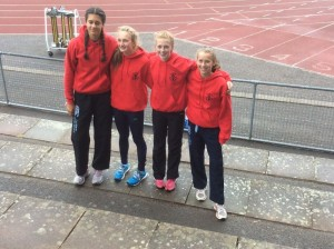 SW School Combined Events - Olivia Dobson Left & Isobel Pinsky Right