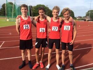 SW Schools Combined Events - Jack Turner vest28 winner of JB Pentathlon