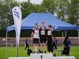 Craig Moncur Podium @ Scottish Champs 1