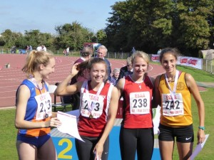 ESAA Combined Events Anya Turner (238) 4th Place