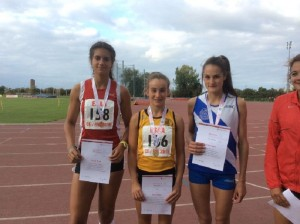 ESAA Combined Events Olivia Dobson  158 (3rd)