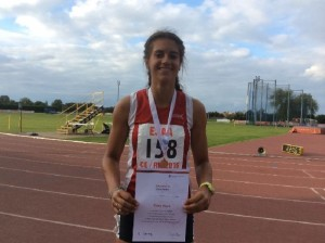 ESAA Combined Events Olivia Dobson (3rd)
