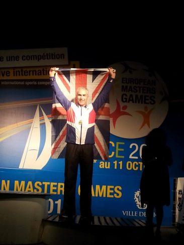 Ian Allen - M45 - Bronze High Jump