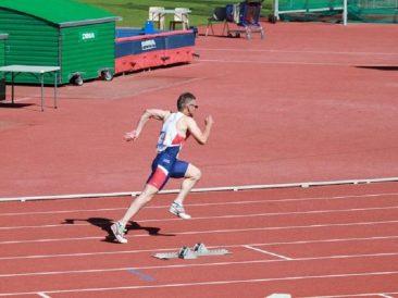 Rob Grew - M50 400m Final