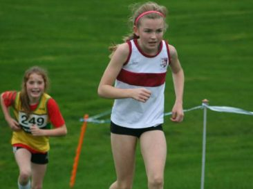 Brooke Coldwell U13 Race