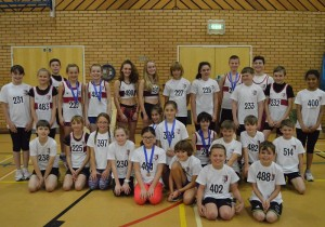 Exeter Harriers - Sportshall 15 11 2015