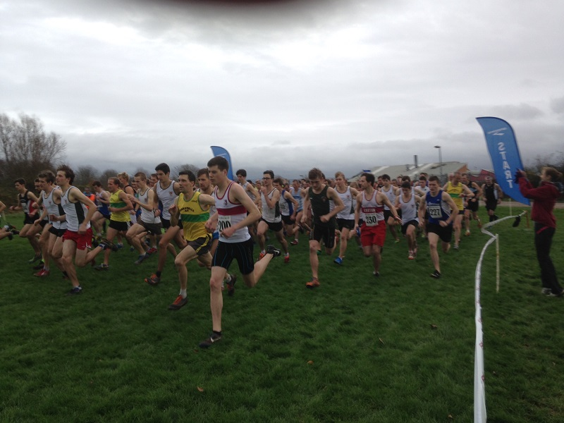 Devon County XC Champs 2015 - Patrick Livingstone 200 Howard Bailey 230