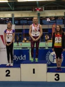 Katie Chapman & Ella Parke @ SW Indoor Champs Cardiff