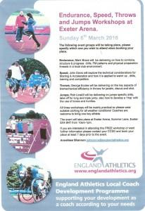 EA Local Coaches Development Programme 6th March 2016