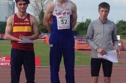 SAM TALBOT TAKES GOLD IN U18 MEN'S DECATHLON