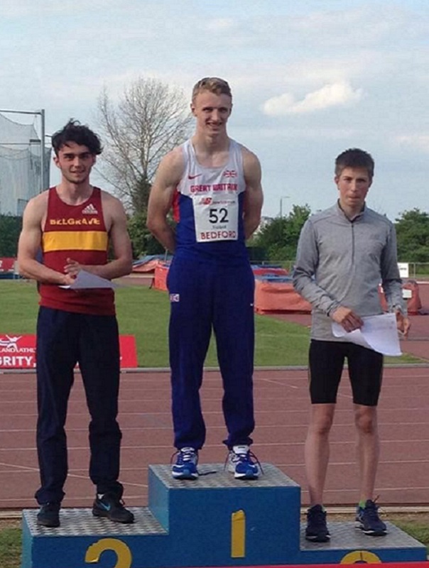 Sam Talbot British U18 Decathlon Record web