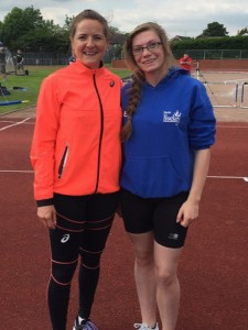 Amy-Beth & Goldie Sayers, Javelin Carnival web