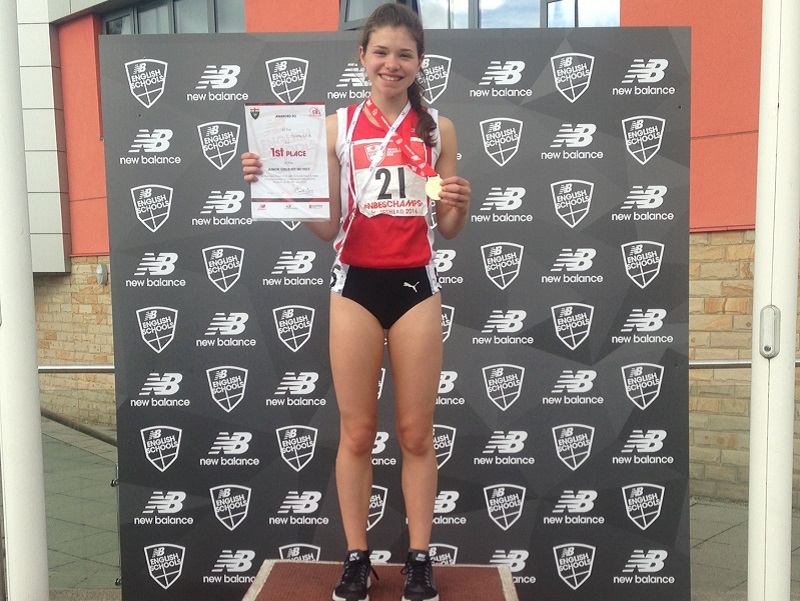 ESAA - 800m Gold Medal, Molly Canham
