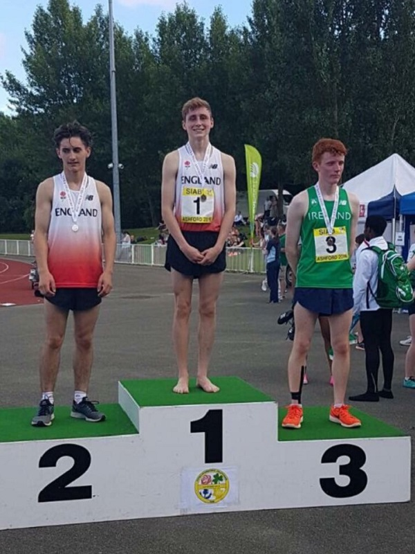 Fin McLear SIAB Gold for 1500m Steeple Chase