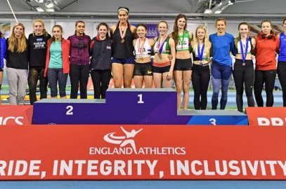 DOBSON & TURNER COMPETE AT EA INDOOR COMBINED EVENTS CHAMPS IN SHEFFIELD