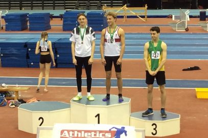HARRIERS JUMP TO MEDAL SUCCESS AT MIDLANDS CHAMPS
