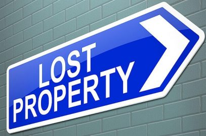 LOST PROPERTY – CLAIM NOW!