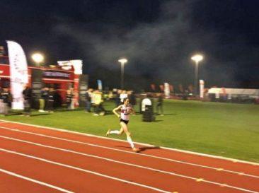 Jo Pavey in the Women's Race