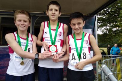 U13 BOYS TAKE MIDLAND ROAD RELAYS BY STORM