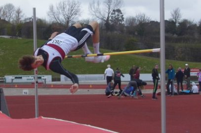 EXETER HARRIERS PERFORMING WELL IN JUMPS AND THROWS AT YEOVIL