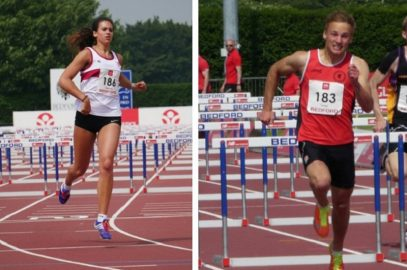 COMBINED EVENTS IN BEDFORD SEES U18s TURNER & DOBSON SECURE WINS