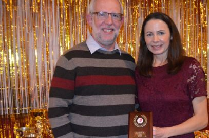 HARRIERS CELEBRATE AWARDS' NIGHT WITH SPECIAL GUEST JO PAVEY